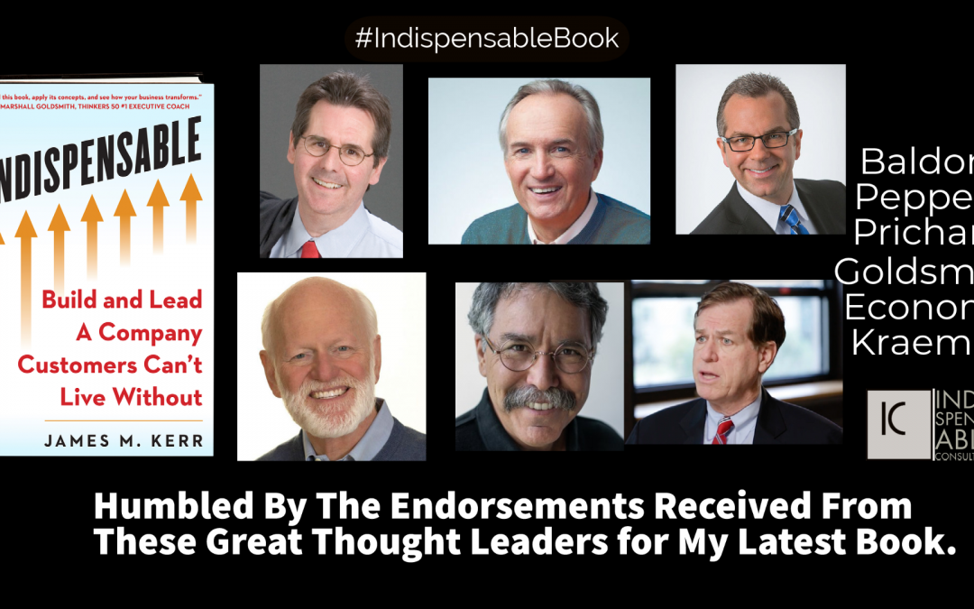 Major Thought Leaders Endorse Indispensable Book