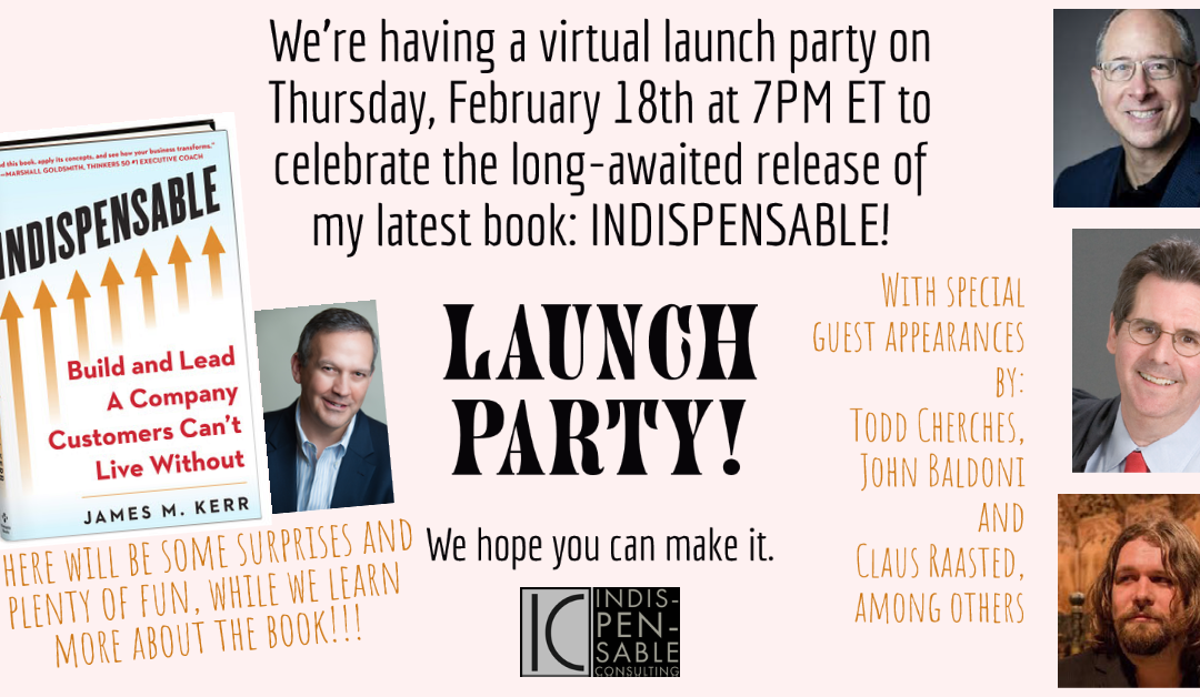 Virtual Book Launch Party