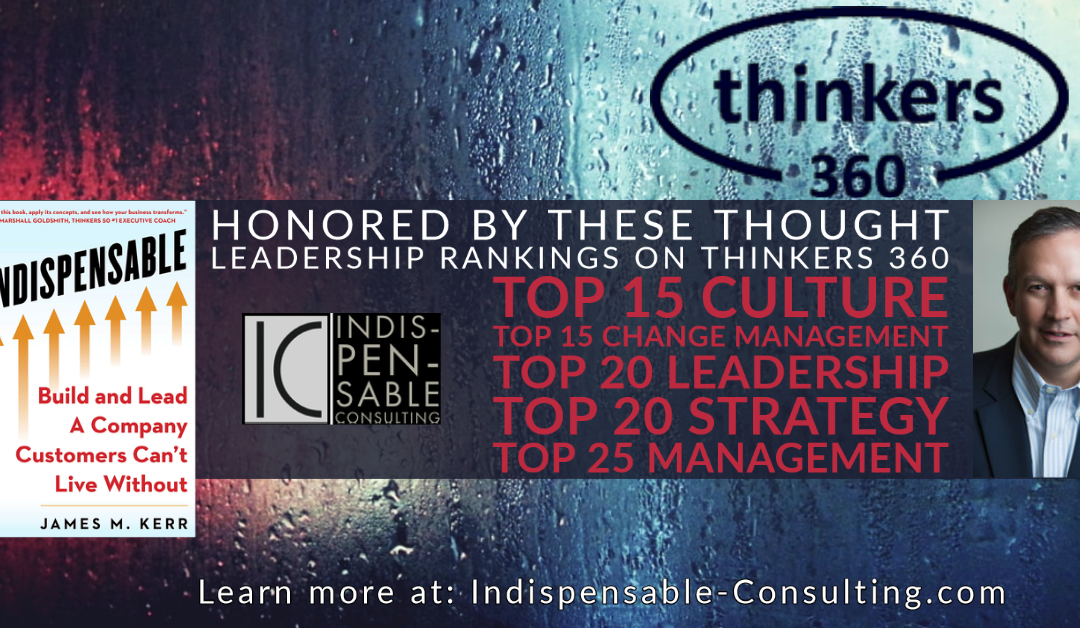Thinkers 360 Global Top 25 Thought Leader